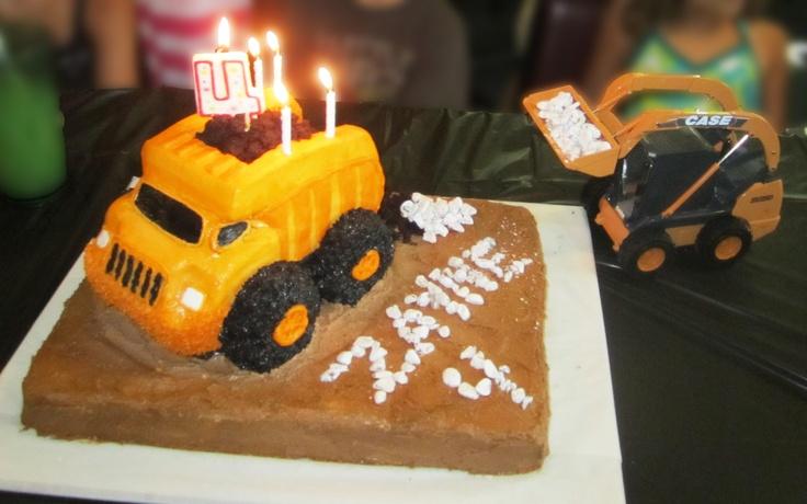 Dump Truck Birthday Cake Pan