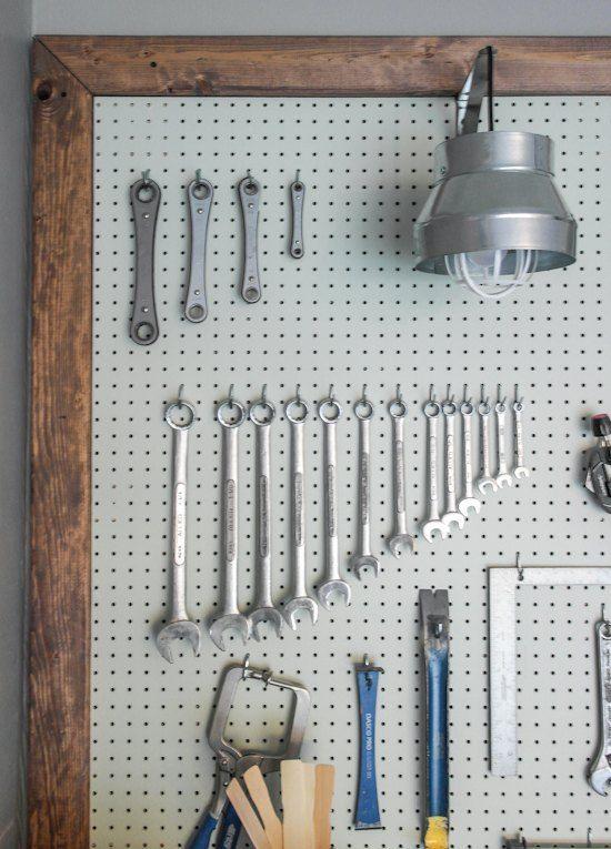 Garage & Workbench Makeover