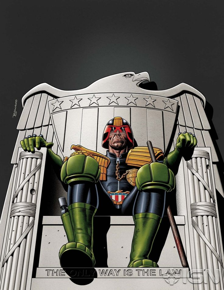You can't beat a bit of Bolland - Celebrate 2000AD's Birthday with Judge Dredd - IGN