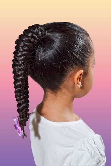 lazy hair styles high ponytail with knotted braids braids 3496