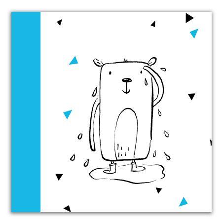 Waterman | Horoscoop Geboortekaartjes van Gaafkaartje