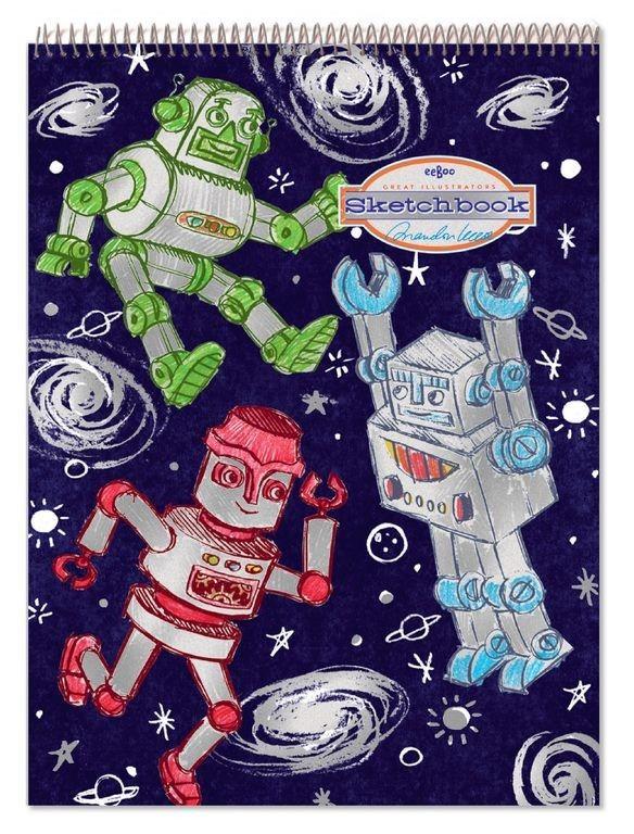 Szkicownik Eeboo - Roboty