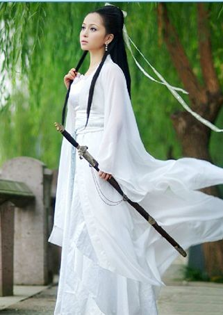 Chinese Ancient Fairy Maiden Costume of Tang and Han Dynasty - Theinnest.com