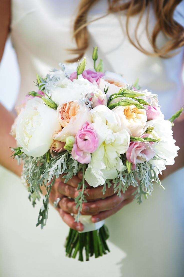 Wedding decor images zimbabwe  Wedding Bouquets  Summery bouquet with a touch of pink and peach