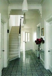 Tile Floor Designs With Unique And Back & White Motif