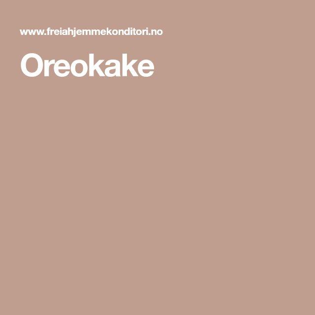 Oreokake