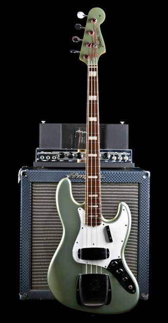 1966 Fender Jazz Bass in Firemist Silver - Shared by The Lewis Hamilton Band - https://www.facebook.com/lewishamiltonband/app_2405167945 - www.lewishamiltonmusic.com