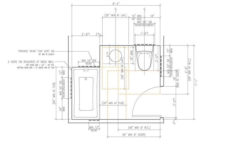 Latest posts under bathroom dimensions bathroom design for Ada bathroom accessories heights