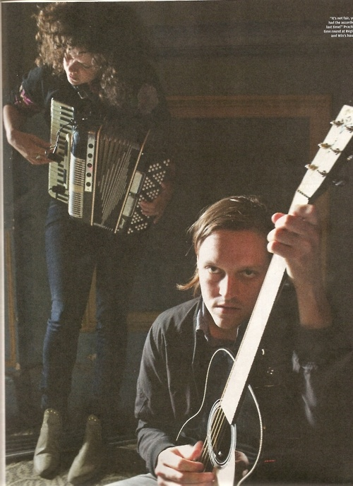Regine Chassagne & Win Butler, NME July 2010.