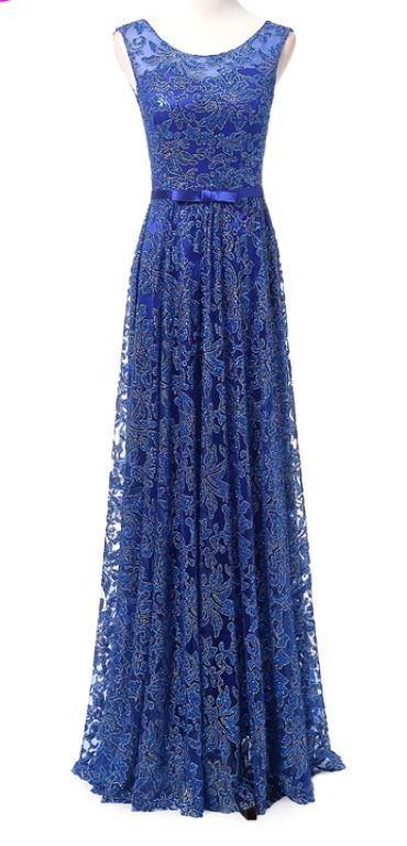 Cheap blue dress formal longbow engagement party bridal party wedding gown to bridal gown