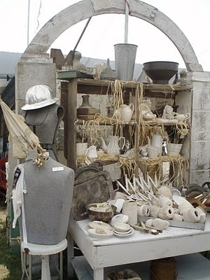 Shabby Chic Booth Display From Time Worn Interiors Great Display