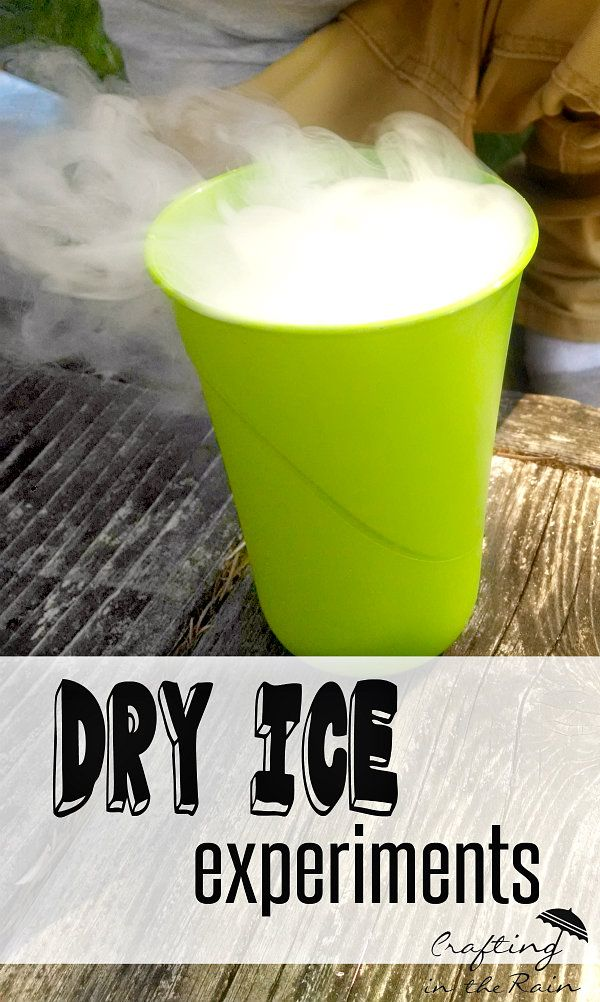 Dry Ice Experiments | Crafting in the Rain #dryice #summersurvivalboys