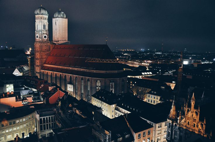 Munich from the top
