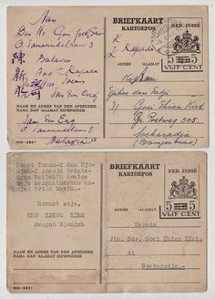 Afbeeldingsresultaat voor chinese identification documents dutch east indies