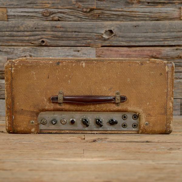 This 1957 Fender Deluxe Tweed is one true gem! Speaker is a Jensen