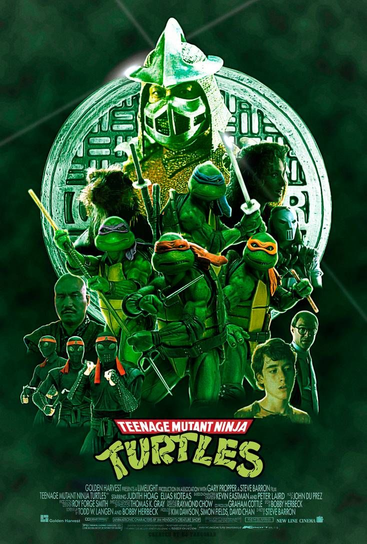 Teenage Mutant Ninja Turtles 1990 Modern Poster By E In 2020 Teenage Mutant Ninja Turtles Artwork Teenage Mutant Ninja Turtles Movie Teenage Mutant Ninja Turtles Art