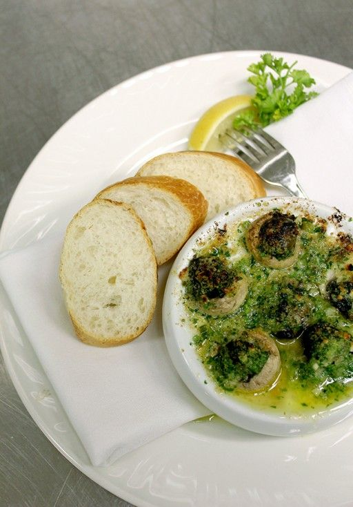 Escargot Forestiere. Because everyone needs a snail recipe in their back pocket. Just in case.