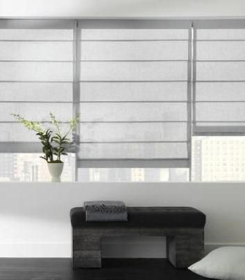 contemporary blinds and shades | Modern Roman Shades | Window Blinds