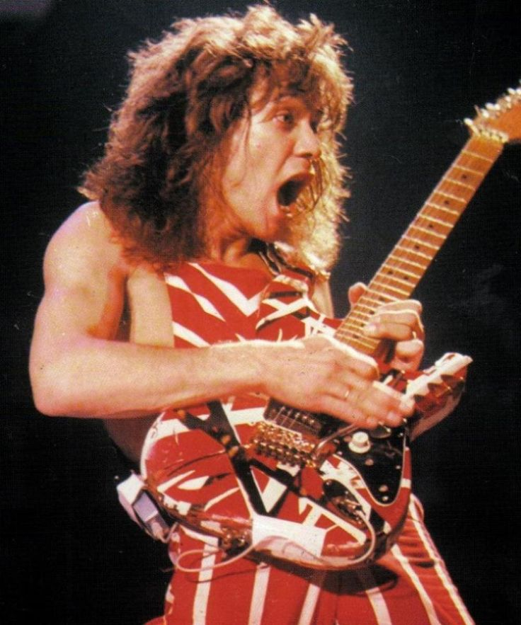 ... Eddie Van Halen. | Bluebird | Pinterest | Eddie van halen, Rocks and Eddie Van Halen Young