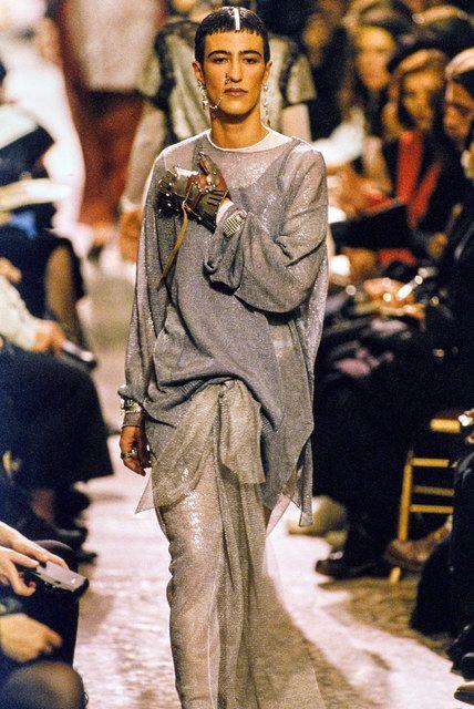 Jean Paul Gaultier, Look #89 #jeanpaulgaultier #fashionshow #fashion #runway #catwalk #models  #style #styling #fashionista