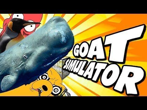 Goat Simulator: WHALE GOAT, CLASSY GOAT, EASTER EGGS AND MORE!! - YouTube