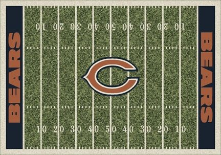 """""""Chicago Bears 7' 8"""""""" x 10' 9"""""""" NFL Home Field Area Rug"""": Get in the Game with this NFL Chicago Bears… #Sport #Football #Rugby #IceHockey"""