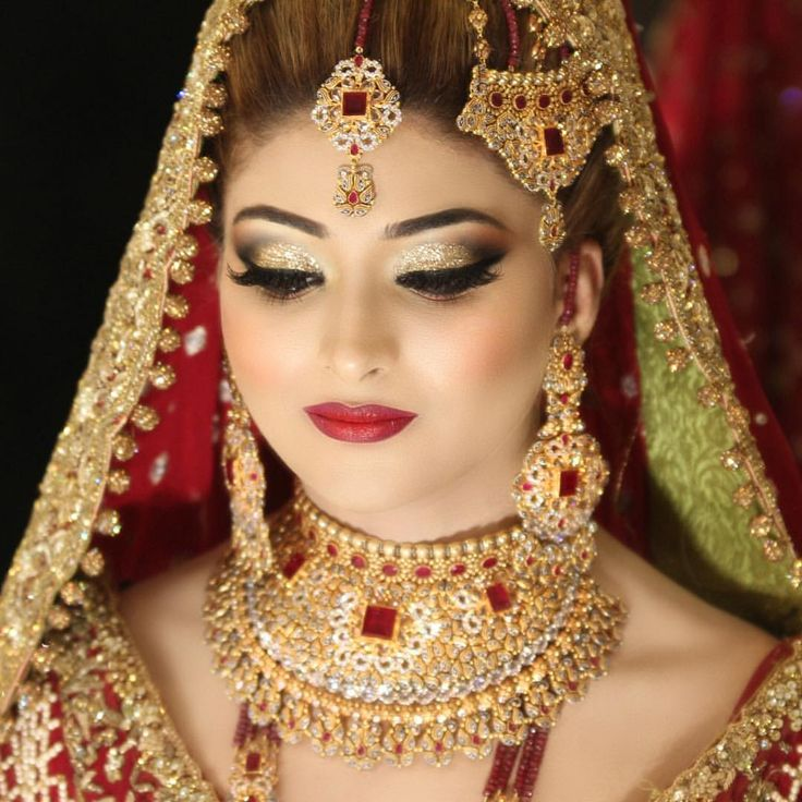 Pin by Tayyaba Ali on Makeup in 2019 | Pakistani bridal ...