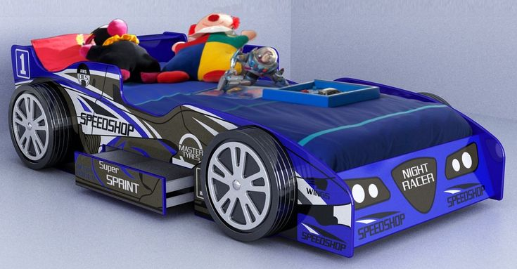 Artwork of Creative Race Car Beds For Toddlers
