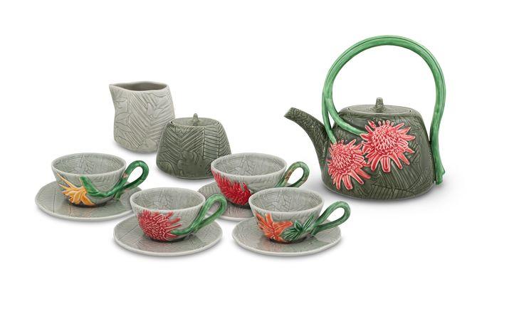 TROPICAL tea set
