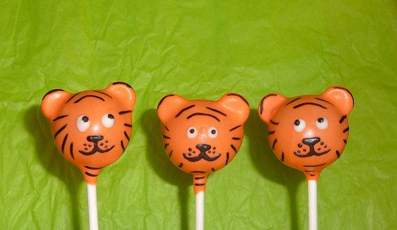 Tiger Cake Pops Cake Pops Balls All Occasions