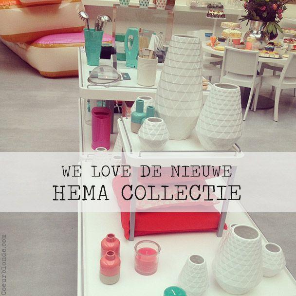 Coeurblonde loves | De nieuwe HEMA collectie (fotoverslag!)