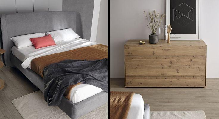Chambre à coucher - Contemporaine - Haut de gamme