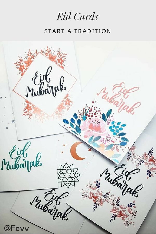 Start A Tradition With Eid Card Giving Referensi Seni Amplop Seni