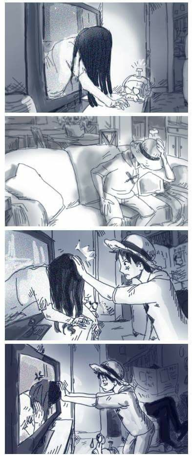Repin if you would do this like Luffy (only Luffy would)