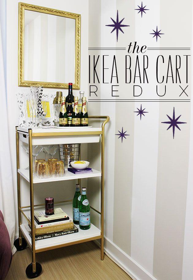 Best 25 ikea bar cart ideas on pinterest diy bar cart bar carts and mini bars - Ikea mobile bar ...