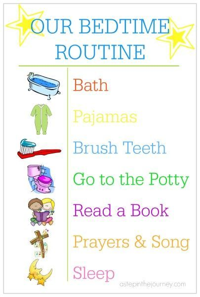 Baby Bed Time Routine