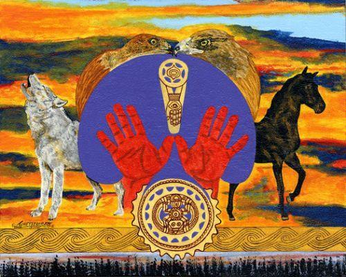 Pin Cherokee Indian Art on Pinterest