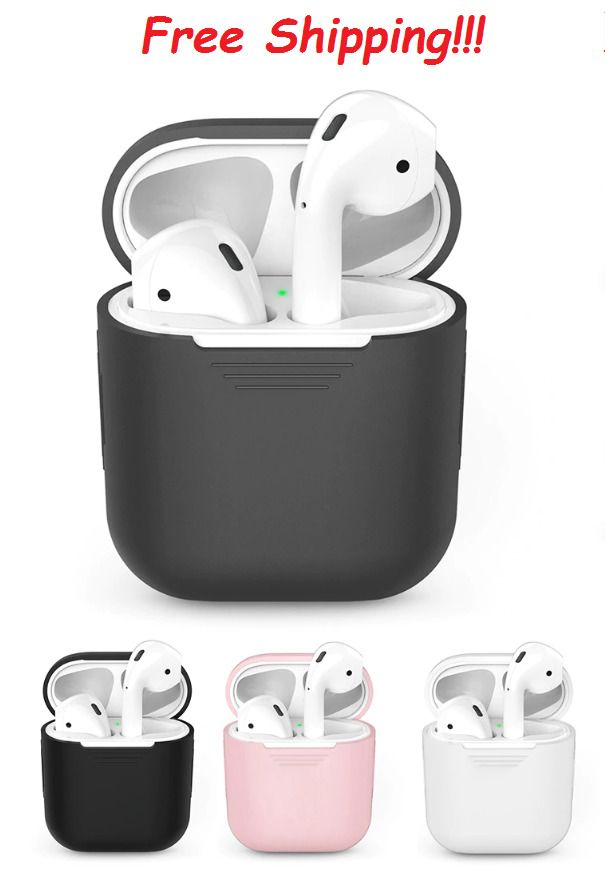 big sale 03923 a4914 Bluetooth Wireless Earphone Case For AirPods Protective Cover Skin ...