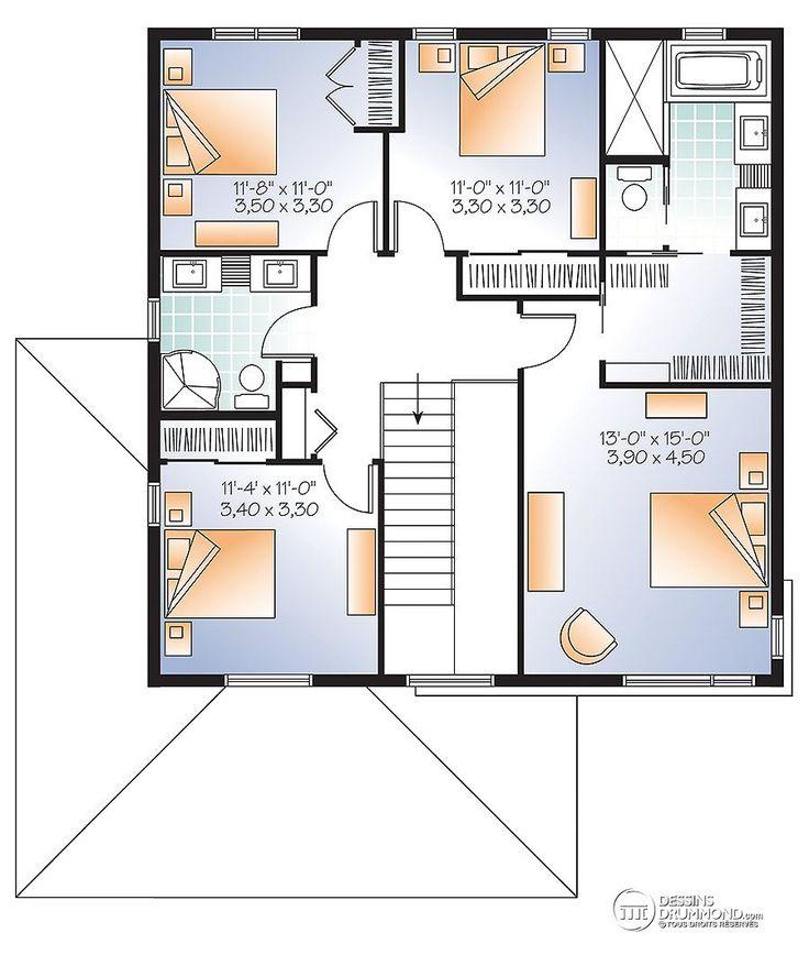 575 best maison images on Pinterest Dream home plans, Future house