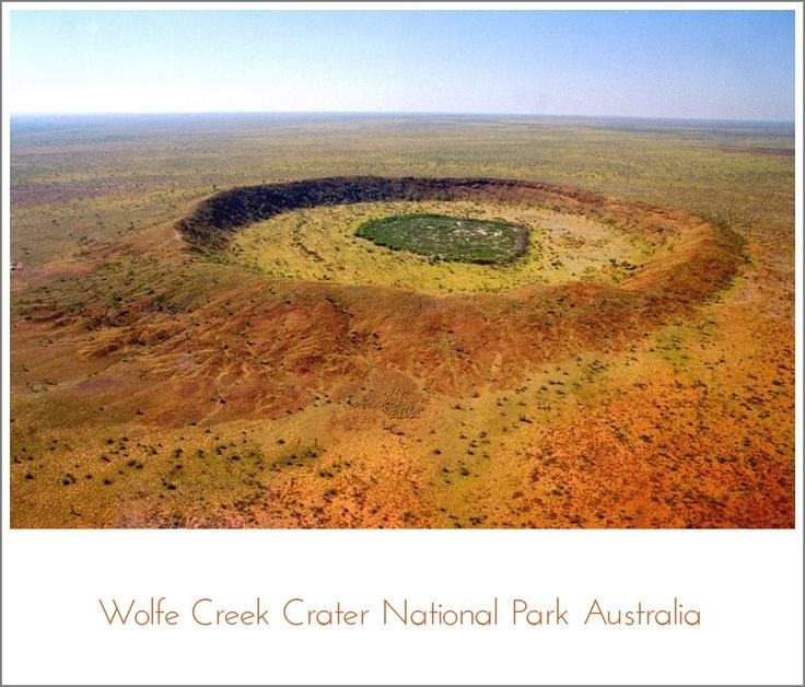 Wolfe Creek Crater National Park Australia