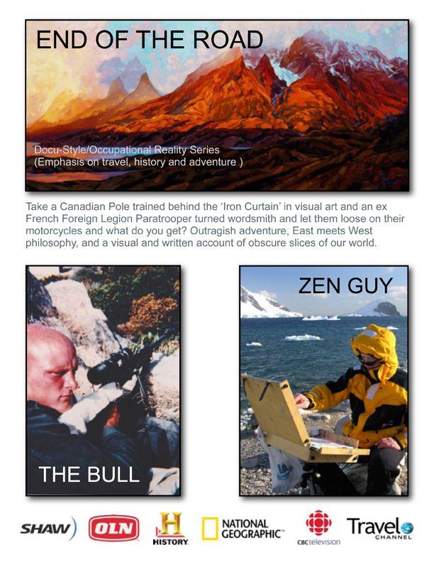 Short description of the show.  #TV #documentary #film #art #writing #travel #adventure