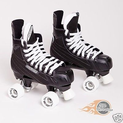Bauer quad #roller skate - #nexus 3000, playmaker conversion, #belair hockey whee,  View more on the LINK: 	http://www.zeppy.io/product/gb/2/161850551259/