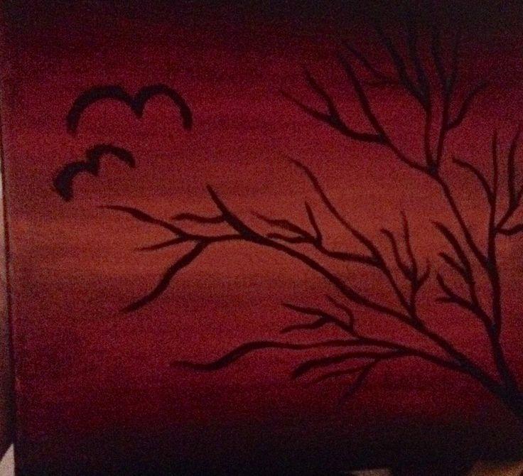 Ma acrylic paint is soo trusty😊😊