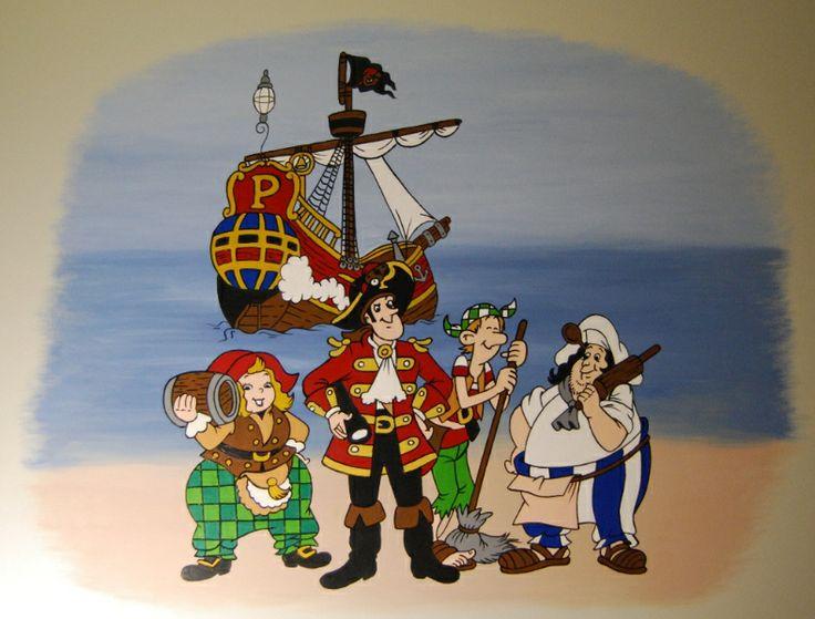 piet piraat in kinderkamer bumba slaapkamer prijsbest nl