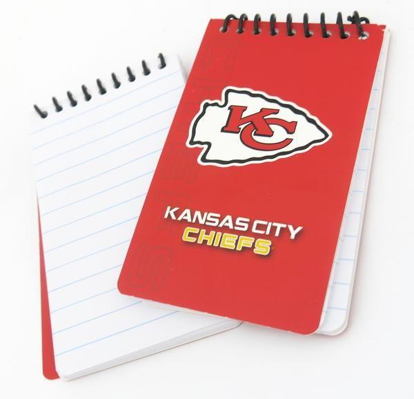 Kansas City Chiefs memo pads  12 pack. #kansascity #Kansas #Chiefs #chiefskingdom #GoChiefs #NFL