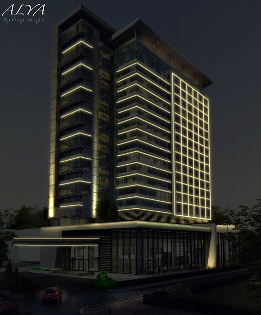 Kayseri Plaza Aydınlatma Tasarımı