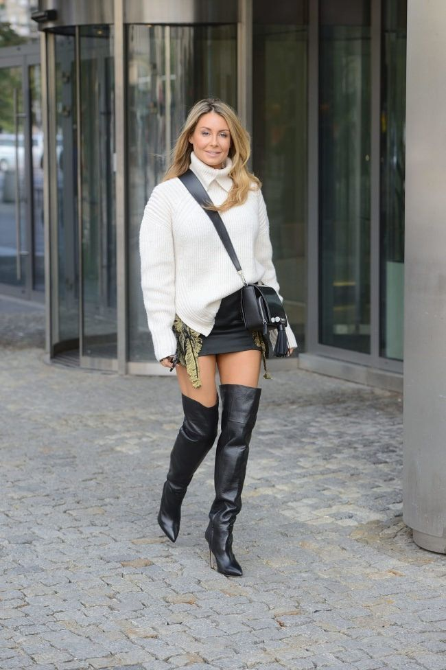 Pinterest : Js Babes in Boots 2 please follow #hothighheelsshortskirts