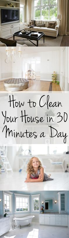 How to Clean Your House in 30 Minutes a Day (1)