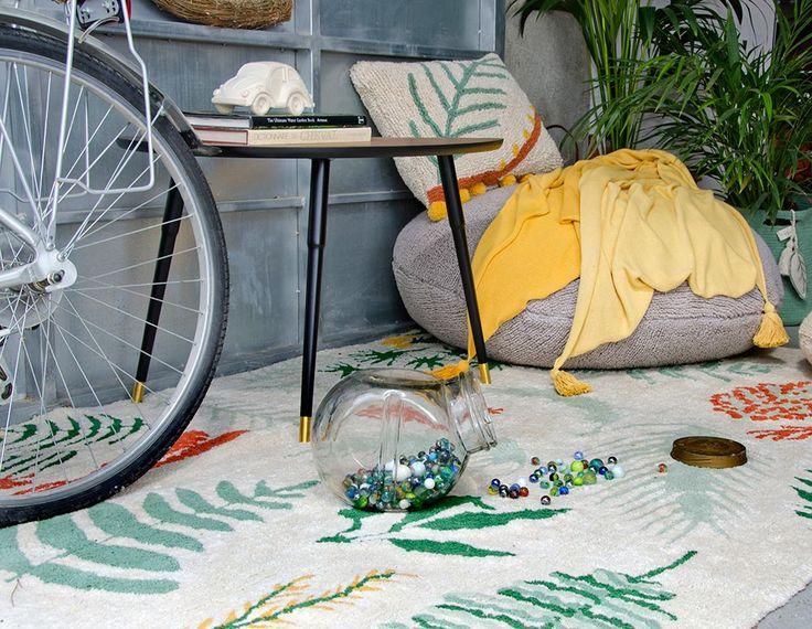 NEW Blanket Ombré Mustard #washablerugs #lorenacanals #blanket #ombre