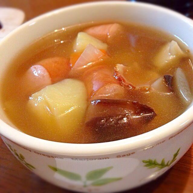 ゴロゴロ野菜スープ - 22件のもぐもぐ - ゴロゴロ。 by YUKIJ